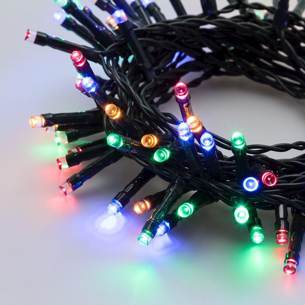 Světelný řetěz - LED řetěz na baterie s časovačem