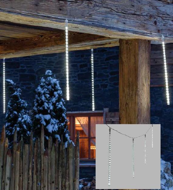 LED sněžení, 10 trubic